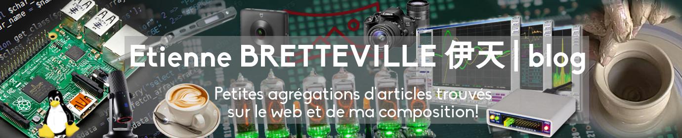 Etienne BRETTEVILLE 伊天 | blog